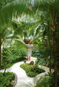 Take a break from the city bustle and unwind in a paradise            of spacious gardens