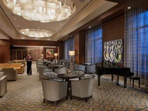 The Lobby Lounge of Crimson Hotel Filinvest City, Manila
