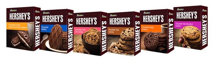 The 6 new variants of Julie's Hershey's Cookies