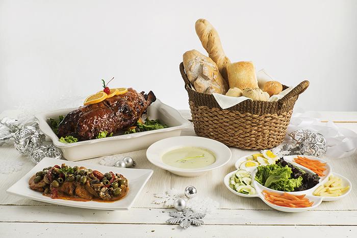 Casa Roces Segundo Christmas Buffet package