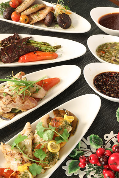 Eastwood Richmonde's Holiday Buffets PR
