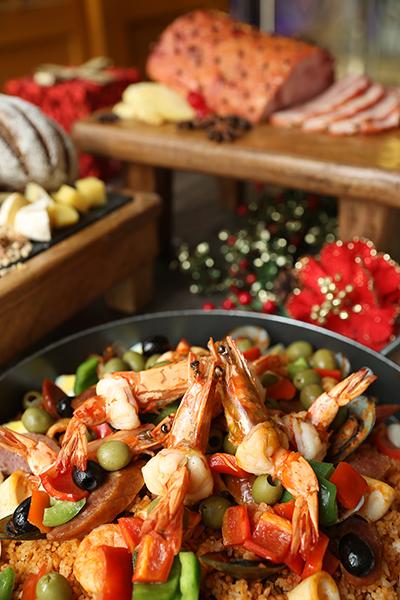 Richmonde Café's Christmas Eve Dinner Buffet featuring Filipino-Spanish Cuisine