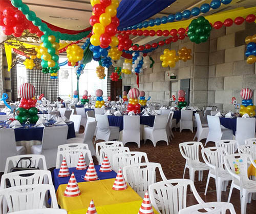 Nautical Themed birthday party set-up at Sequoia Ballroom