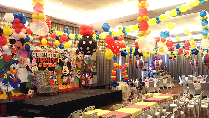 Mickey and Friends inspired Children's Party at Sequoia Ballroom