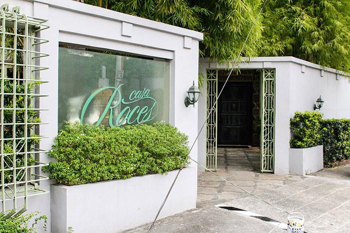 Casa Roces facade