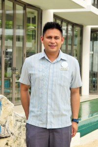 Eduard Anzures, Discovery Shores Boracay, Front Office Manager