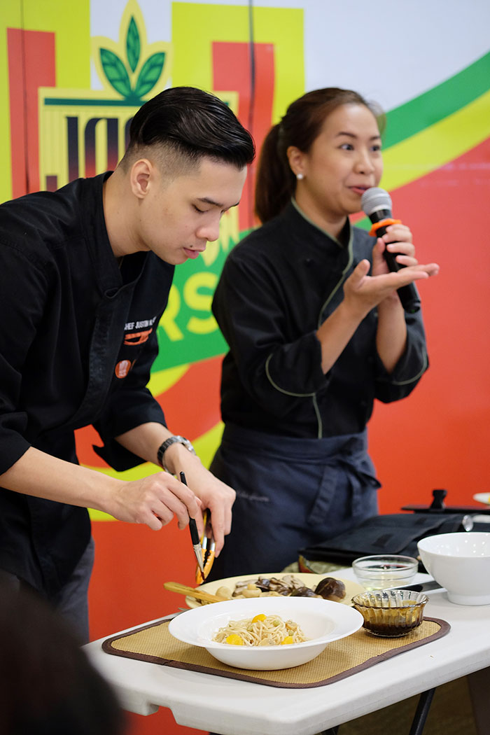 Food Styling by Chefs Mitchie Sison and Justin Sison