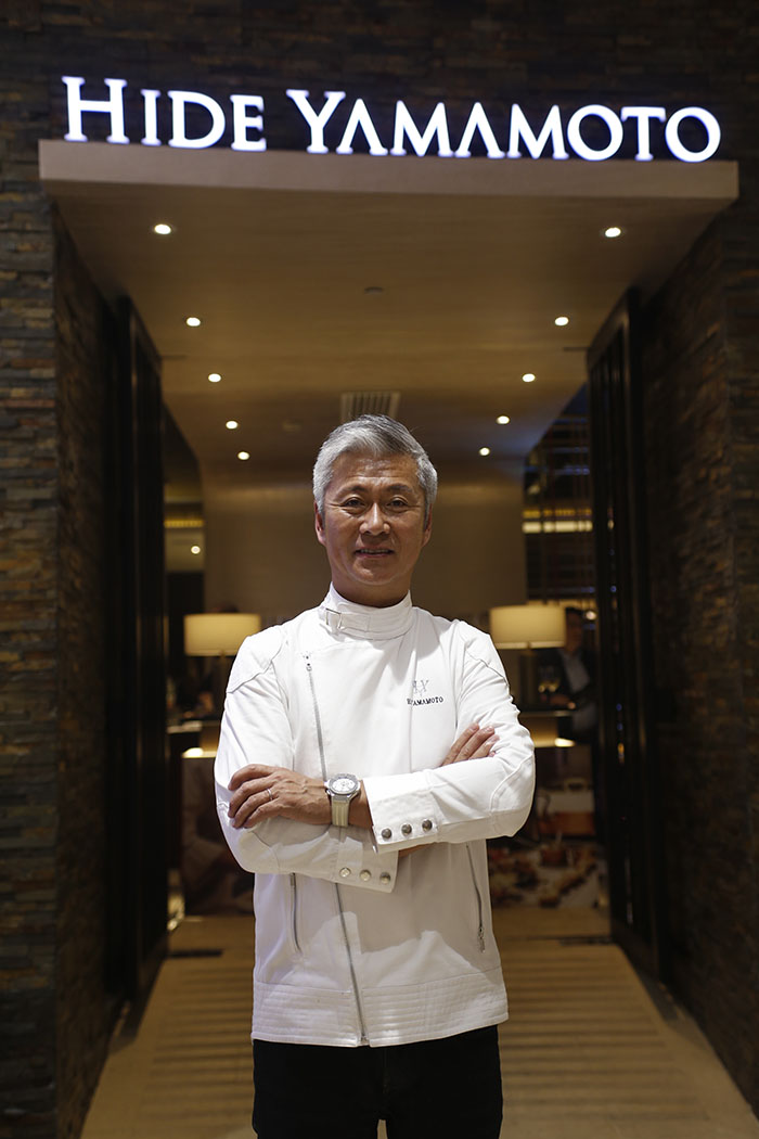 Chef Hidemasa Yamamoto, owner of the Hide Yamamoto Restaurant, which is one of the merchant partners of Epic Dining by Visa program