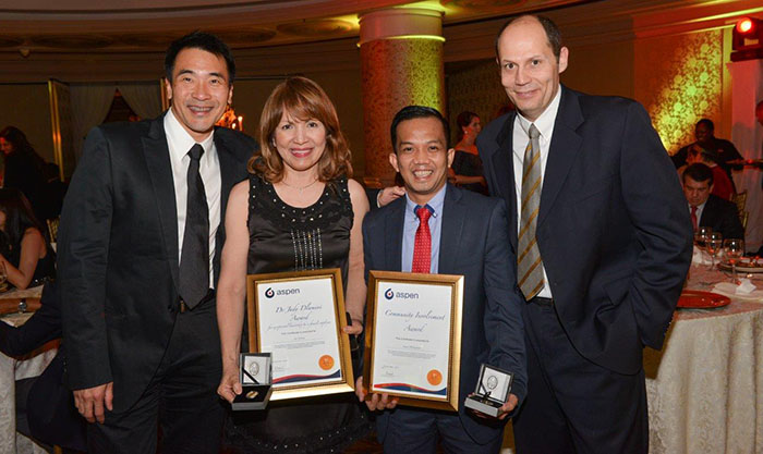 Keith Lu – Director for Asian Markets Ace Itchon – President and CEO Aspen Philippines Steve Lumabi – Finance Director Trevor Ziman – Regional Chief Executive Aspen Asia Pacific