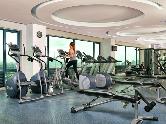 Eastwood Richmonde Hotel's Gym at the 39th Floor