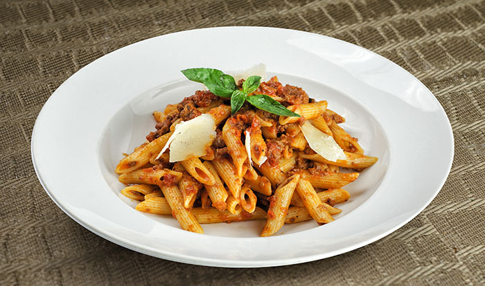 Bolognese                                           Classic Italian meat with tomato sauce