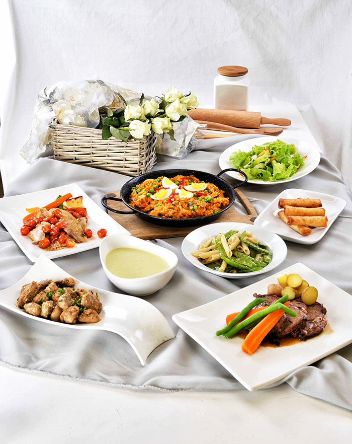 Casa Roces Mom's Day buffet offerings