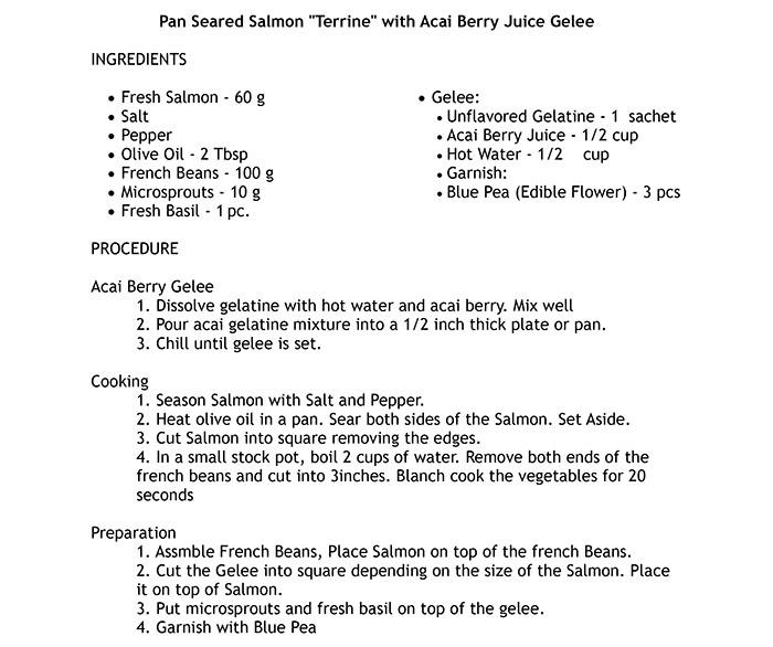 Dish01-Pan-Seared-Salmon-Terrine-with-Acai-Berry-Juice-Gelee-PGS