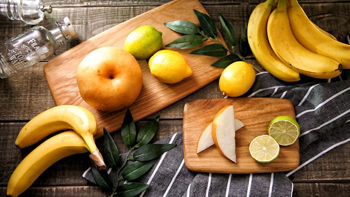 Pear Banana Lemon Juice