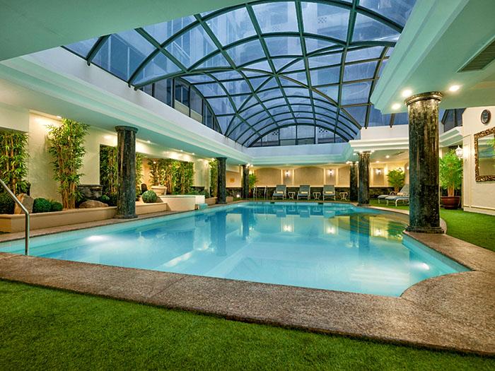 Richmonde Hotel Ortigas' Heated Indoor Pool
