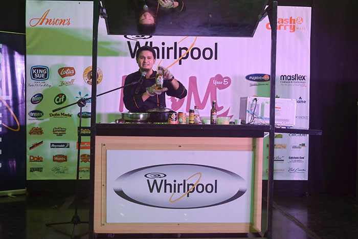 Chef DJ Santos of Dona Elena Olive Oil