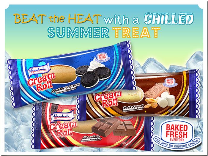 Cream Roll summer photo