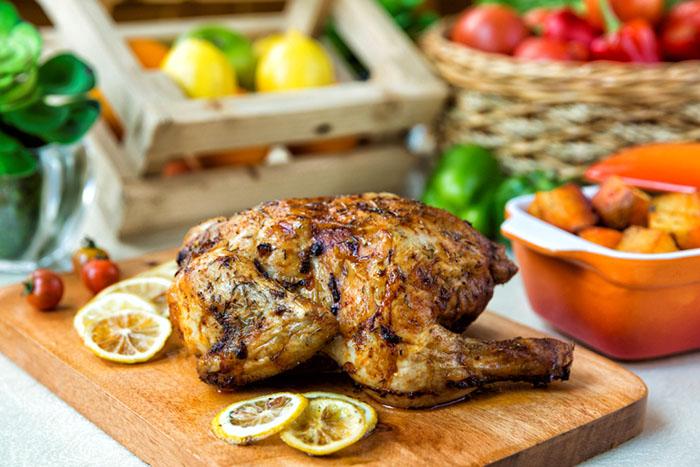 Mom's Charming Countryside Buffet at Richmonde Cafe –  Greek Lemon Chicken
