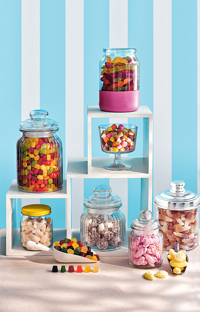 Sweet Treats – our fruity sweets are a real treat and taste naturally delicious.