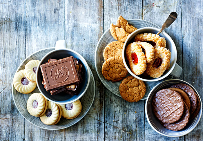 Biscuits – find your perfect biscuit from indulgent chocolate-covered to crunchy British classics.