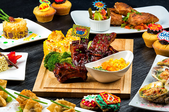 Eastwood Richmonde Hotel's Super Dad Father's Day Buffet