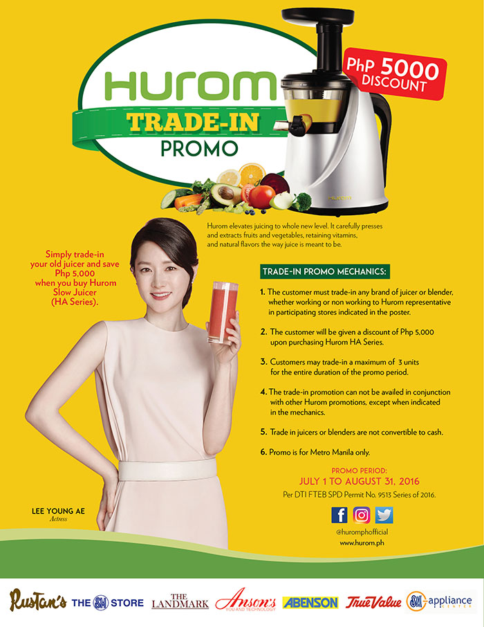 HUROM TRADE-IN PROMO