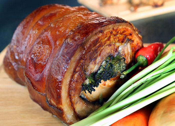 ERH Free Banquet Add-On, Carving - Crispy Pork Belly