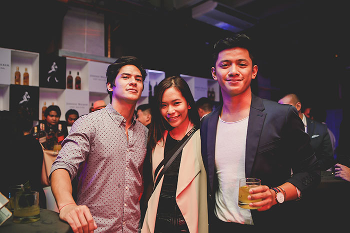Matthias Rhoads, Raiza Poquiz, and David Guison