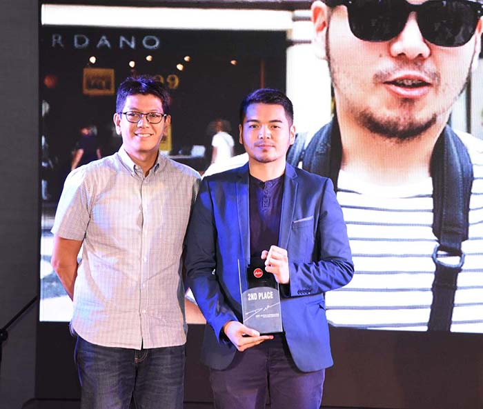 First Runner Up, Dave Poblete also took home the People's Choice Award