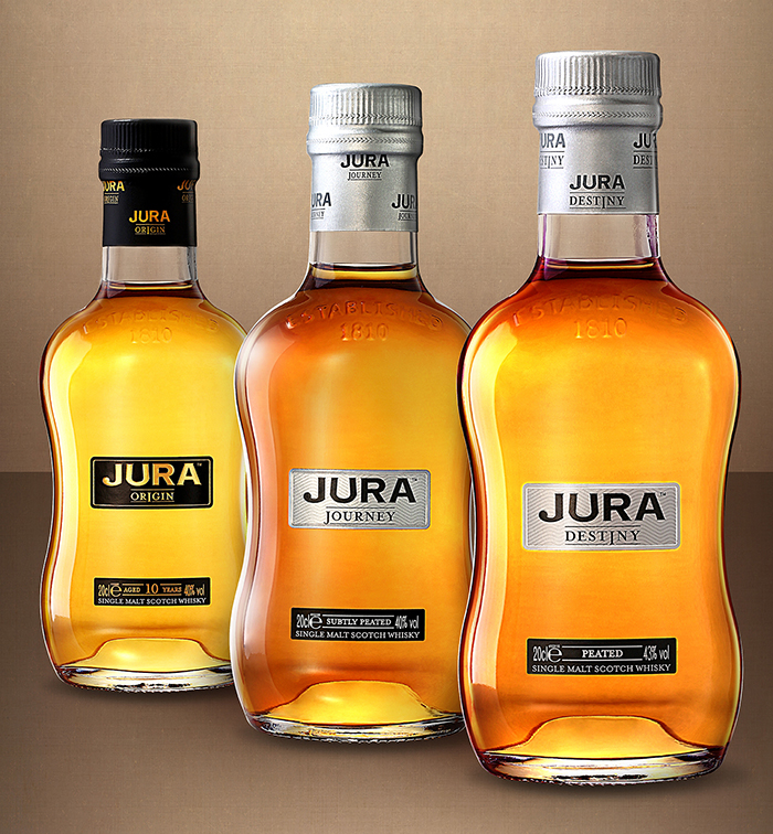 Buy Two, Take One on orders by the glass or by the bottle of Jura Origin, Jura Journey, and Jura Destiny
