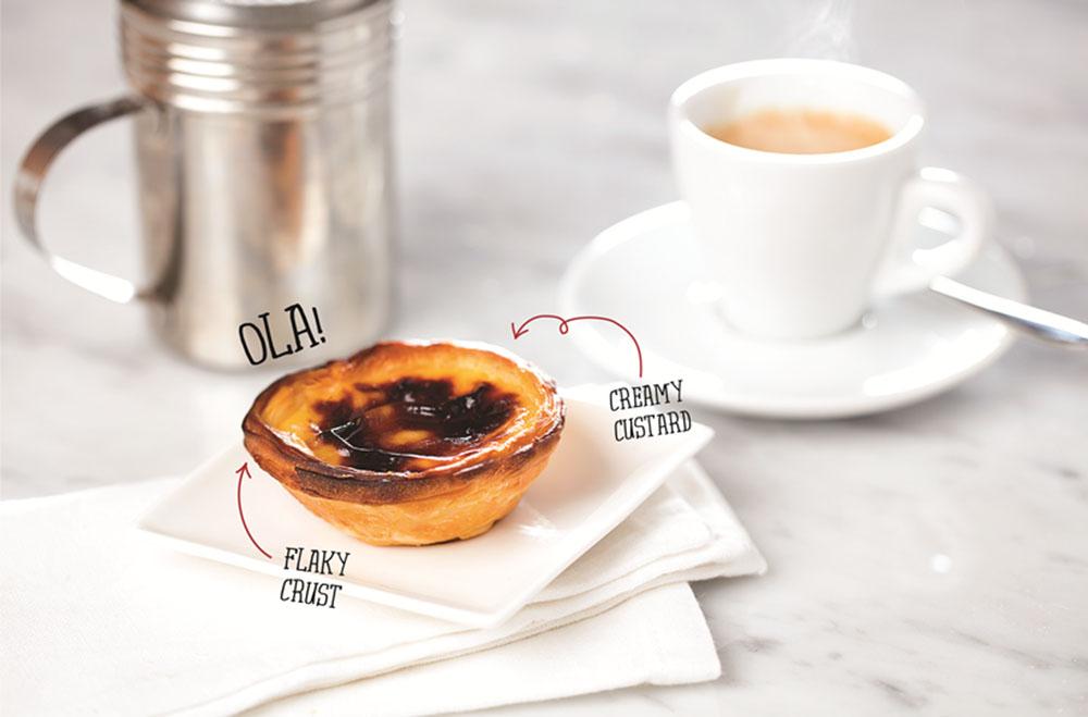 Cafe Bonjour - Pastel de Nata