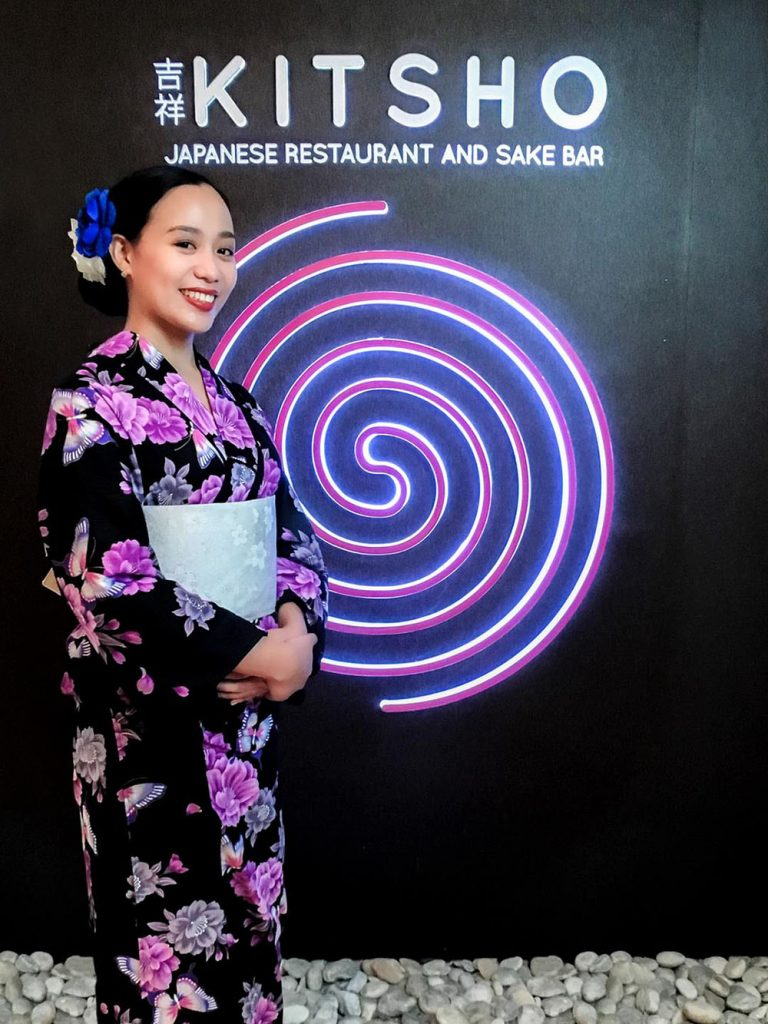 Diners who join Kitsho's 'Yukata Challenge' get to enjoy a few perks. copy