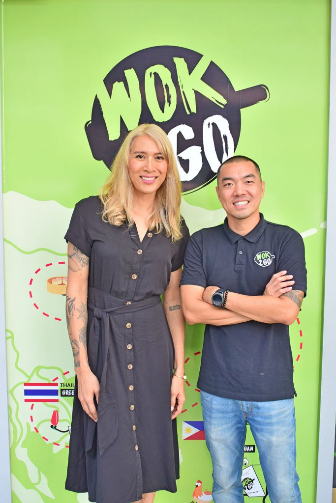 Angie King and Kim Garcia established Wok2Go in 2017 after two years of recipe development
