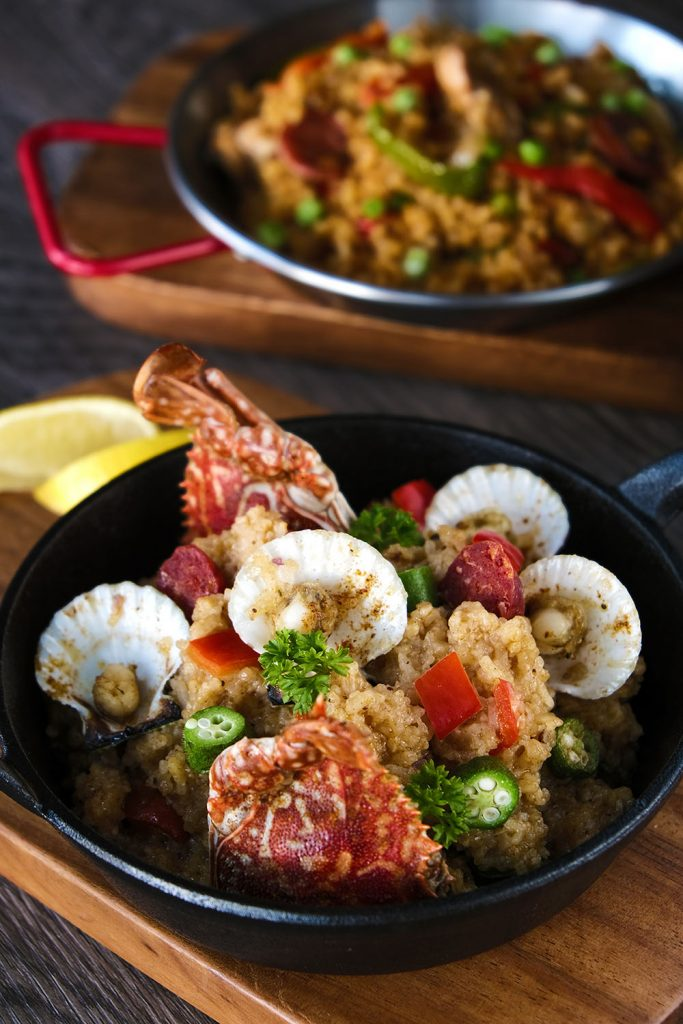 Savor the bolder & better dishes of Richmonde's new a la carte menus  at The Granary, BizBar, and Zabana Bar