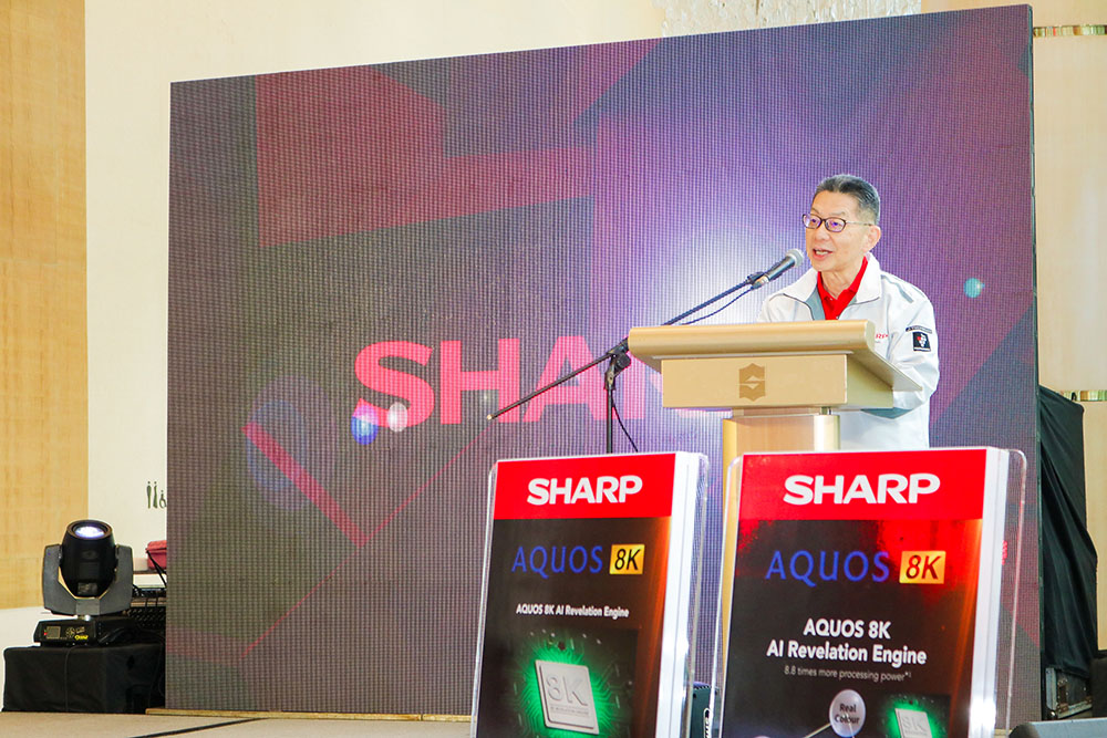 Executive Managing Officer, Head of President Office and Head of ASEAN Business of Sharp Corporation Yoshihiro Hashimoto copy