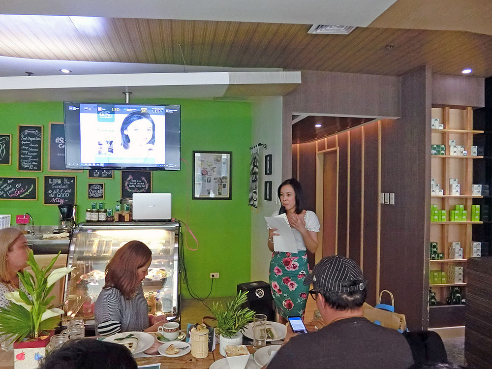 Khaye Cortez tells her experiences on how she gained confidence after her several skin vigoration treatment at Diana Stalder