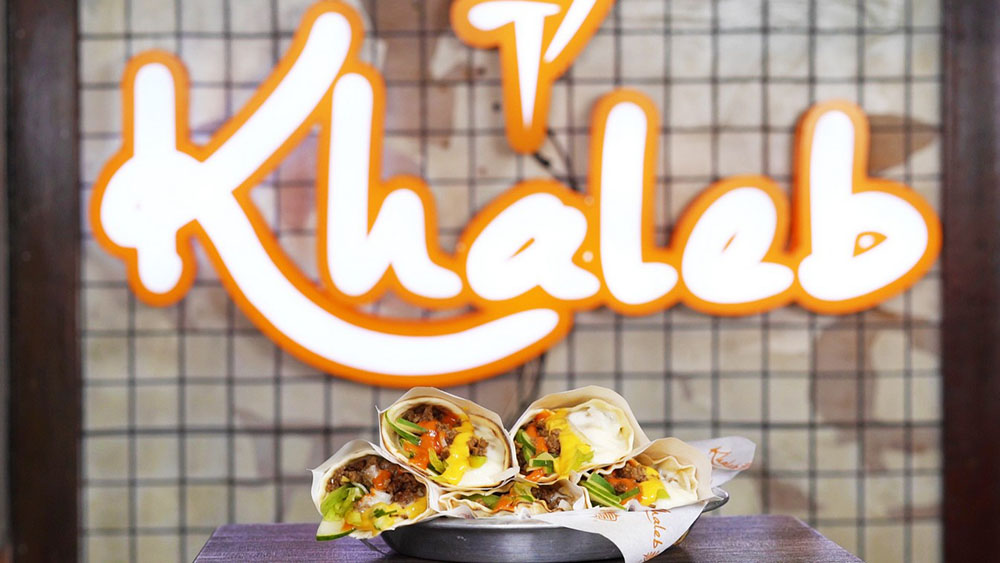 The leader in Mediterranean fast food, Khaleb Shawarma, joins the festivities with their special shawarma.