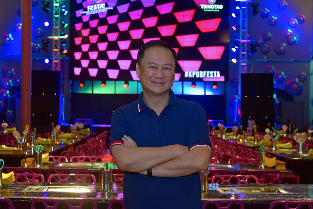 No Limits Food Inc. President George Pua