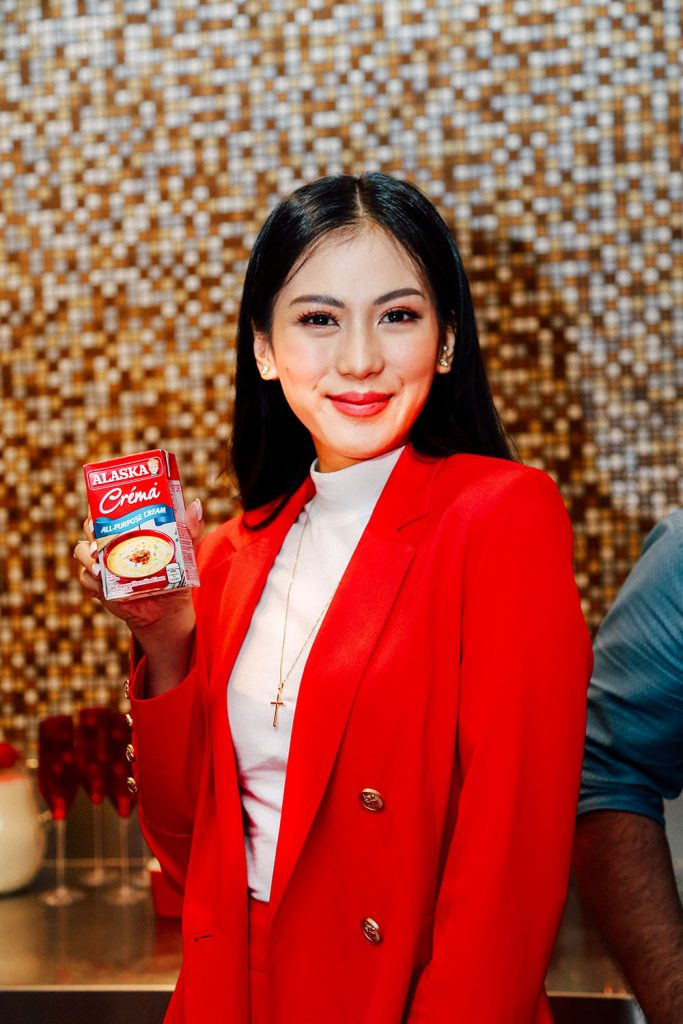 Alex Gonzaga with Alaska Crema