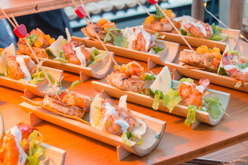 Novotel Manila Araneta Center's Shrimp Tacos with Chipotle Aioli and Mango Salsa Jalapeno Coleslaw
