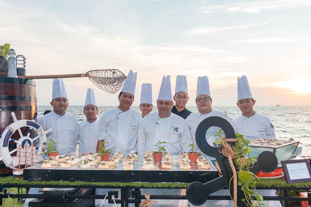 Sofitel Philippine Plaza Manila's culinary team