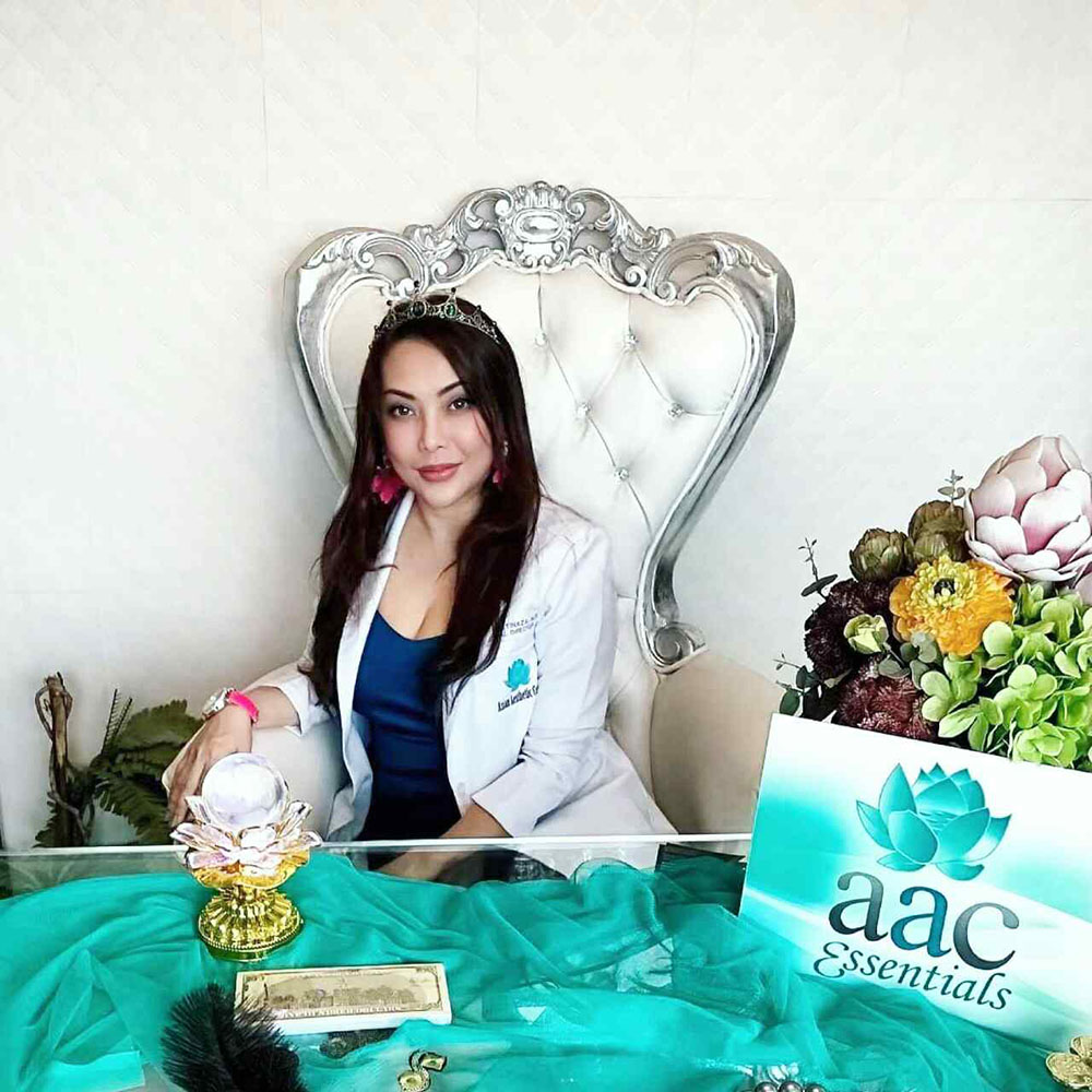 Doctor Amy Bautista of Asian Aesthetic Center