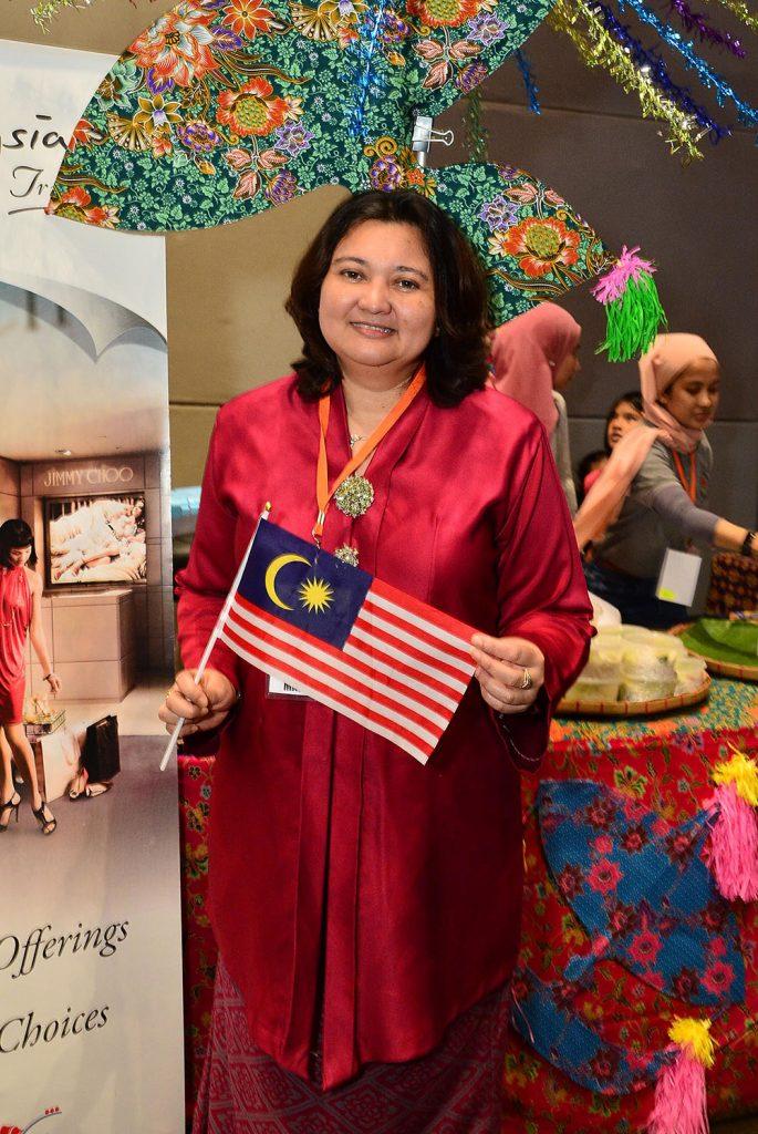 Sharifah Ezneeda Wafa Syed Mohd Zulkarnain Wafa, Malaysian Embassy's Head of Chancery