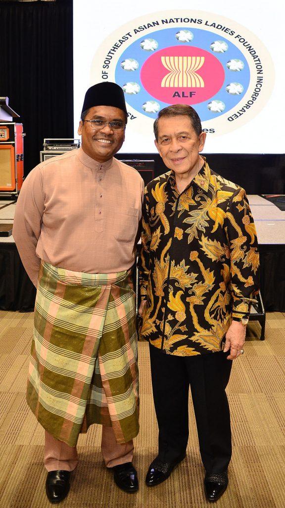 H.E. Malaysian Ambassador Norman Muhamad and H.E. Indonesian Ambassador Sinyo Harry Sarundajang