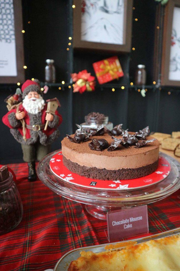 Bo's Coffee Holiday cake Chocolate Mousse Cake