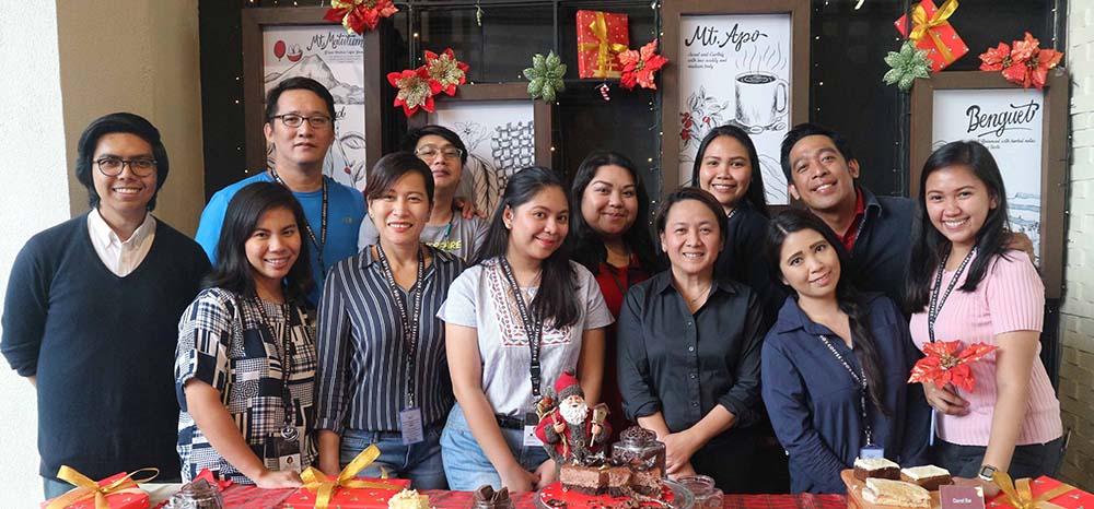 Bo's Coffee team celebrates Christmas by Giving Love copy