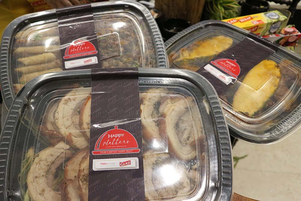 Happy Ongpauco-Tiu's Happy Platters are available in Happy Concept Restaurants