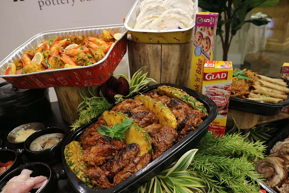 Make sure your food is protected with Glad food trays and storage