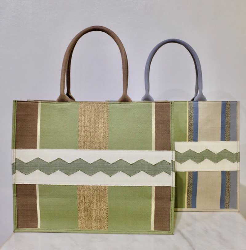 Kakaibag of GW by GREAT Women using handwoven textiles from Marawi weavers
