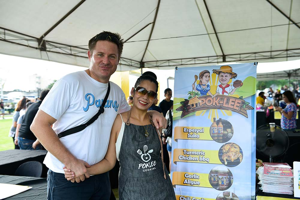 Lee O' Brian and Pokwang